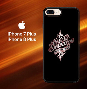 Harley Davidson Motorcycles O0738 hoesjes iPhone 7 Plus , iPhone 8 Plus