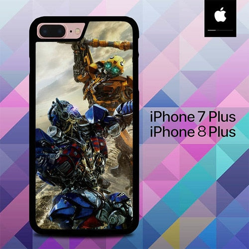 Bumblebee Versus Optimus Prime O0744 hoesjes iPhone 7 Plus , iPhone 8 Plus