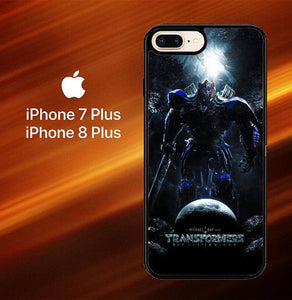 Transformer The Last Knight O0747 hoesjes iPhone 7 Plus , iPhone 8 Plus
