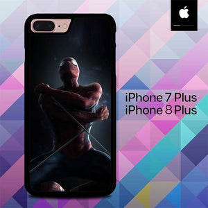 Homecoming Spiderman O0747 hoesjes iPhone 7 Plus , iPhone 8 Plus