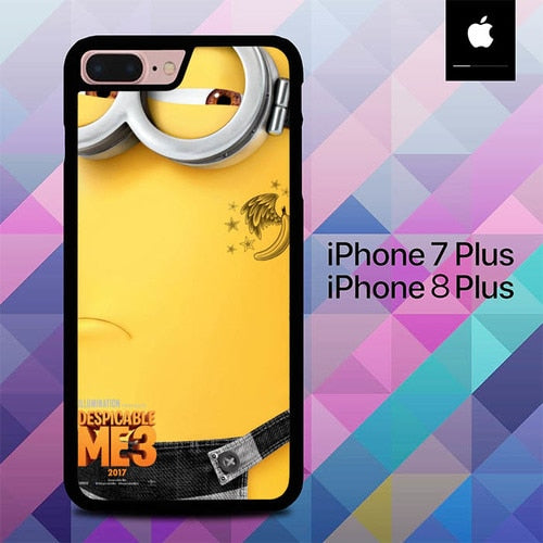 Descaptable Me 3 Poster O0752 hoesjes iPhone 7 Plus , iPhone 8 Plus