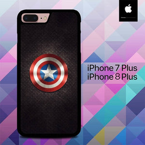 Sheild Captain America O0795 hoesjes iPhone 7 Plus , iPhone 8 Plus