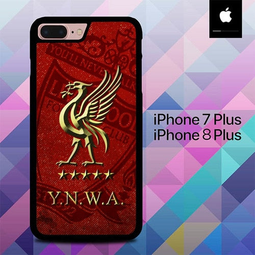 Liverpool 3 O0810 hoesjes iPhone 7 Plus , iPhone 8 Plus