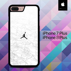 White Air Jordan O0830 hoesjes iPhone 7 Plus , iPhone 8 Plus