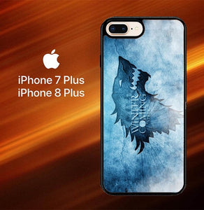 Game Of Thrones Blue O0846 hoesjes iPhone 7 Plus , iPhone 8 Plus