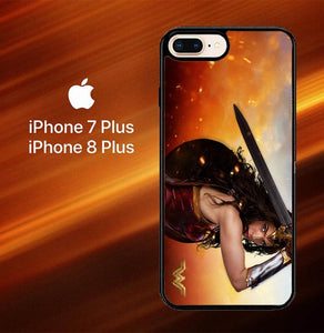 Gal Gadot Wonder Woman O0875 hoesjes iPhone 7 Plus , iPhone 8 Plus
