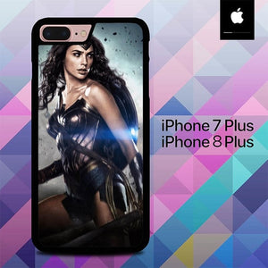 Sexy Wonder Woman O0879 hoesjes iPhone 7 Plus , iPhone 8 Plus