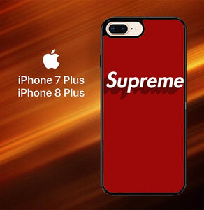 Supreme Shadow Red O0892 hoesjes iPhone 7 Plus , iPhone 8 Plus