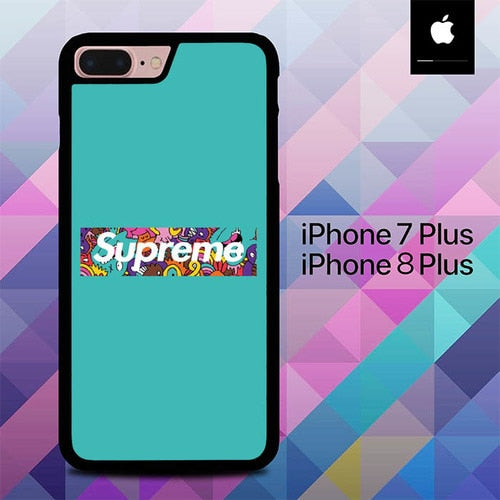 Wonderfull Of Supreme O0900 hoesjes iPhone 7 Plus , iPhone 8 Plus