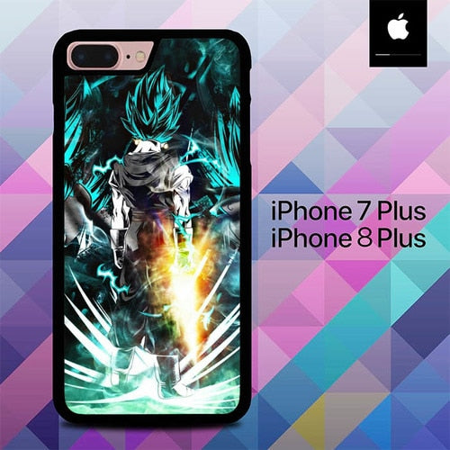 Super Saiyan God Vegito O0937 hoesjes iPhone 7 Plus , iPhone 8 Plus