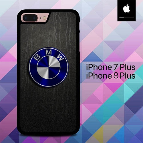 Logo BMW Car O0959 hoesjes iPhone 7 Plus , iPhone 8 Plus
