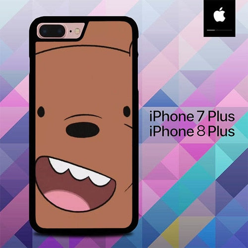We Bare Bears O0971 hoesjes iPhone 7 Plus , iPhone 8 Plus