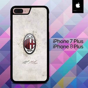 Name Ac Milan O1022 hoesjes iPhone 7 Plus , iPhone 8 Plus
