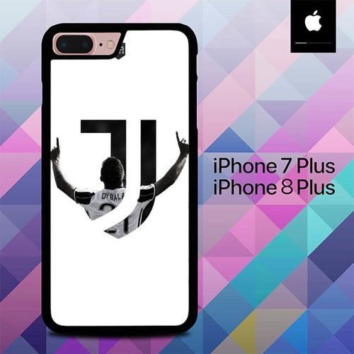 Juvetus J Character O1029 hoesjes iPhone 7 Plus , iPhone 8 Plus