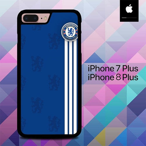 Chelsea Logo Pattern O1035 hoesjes iPhone 7 Plus , iPhone 8 Plus