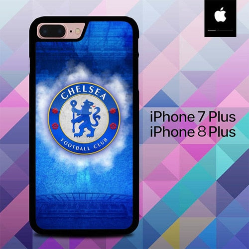 Logo Chelsea O1037 hoesjes iPhone 7 Plus , iPhone 8 Plus