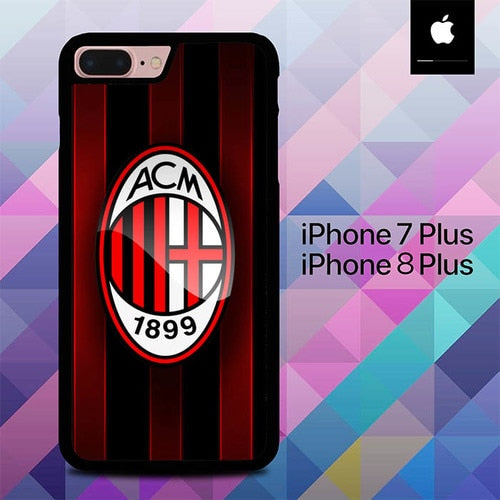 Ac Milan O1209 hoesjes iPhone 7 Plus , iPhone 8 Plus