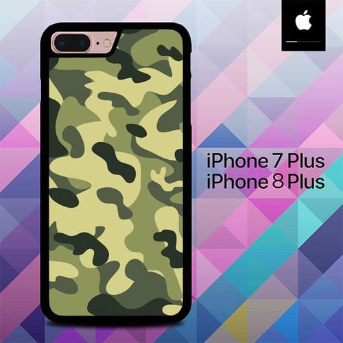 Army Camouflage O1233 hoesjes iPhone 7 Plus , iPhone 8 Plus