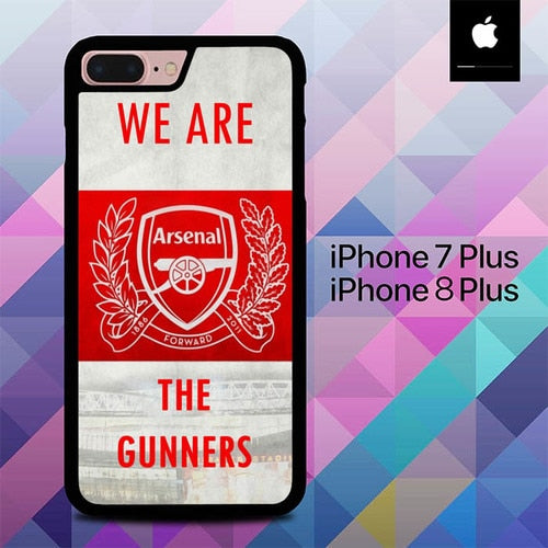 Arsenal We Are The Gunners O1234 hoesjes iPhone 7 Plus , iPhone 8 Plus