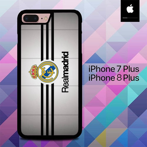 Real MAdrid Logo O1260 hoesjes iPhone 7 Plus , iPhone 8 Plus