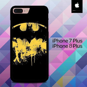 Logo Batman Sign O1298 hoesjes iPhone 7 Plus , iPhone 8 Plus