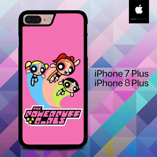 Power Puff Girls O3008 hoesjes iPhone 7 Plus , iPhone 8 Plus