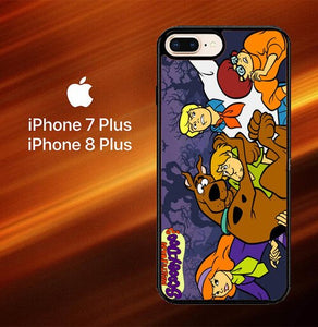 Scooby-doo O3080 hoesjes iPhone 7 Plus , iPhone 8 Plus