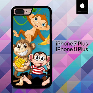 Baby Monkey O3113 hoesjes iPhone 7 Plus , iPhone 8 Plus