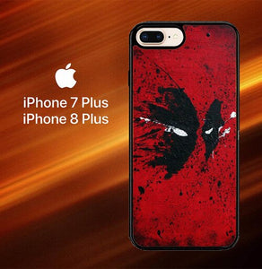 Deadpool Mask O3184 hoesjes iPhone 7 Plus , iPhone 8 Plus