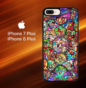 All Character Disney O3190 hoesjes iPhone 7 Plus , iPhone 8 Plus