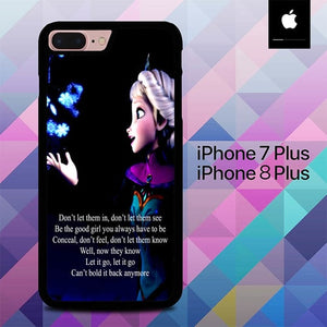 Frozen fear O3218 hoesjes iPhone 7 Plus , iPhone 8 Plus