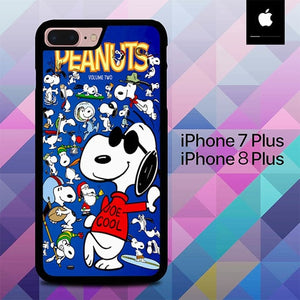 Peanuts Joe Cool O3276 hoesjes iPhone 7 Plus , iPhone 8 Plus