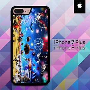 Rush Band Arts O3282 hoesjes iPhone 7 Plus , iPhone 8 Plus