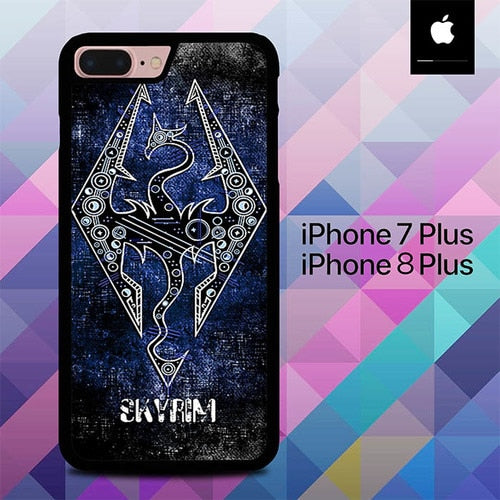 Skyrim The Elder O3286 hoesjes iPhone 7 Plus , iPhone 8 Plus