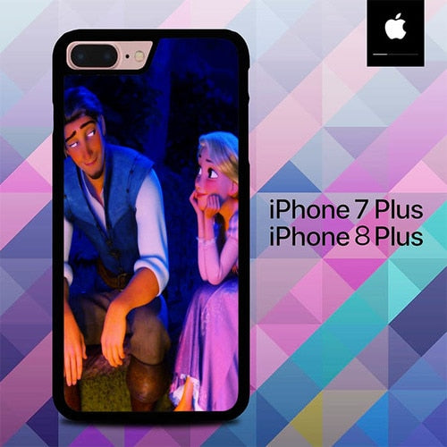 Tangled Disney Cartoon O3311 hoesjes iPhone 7 Plus , iPhone 8 Plus