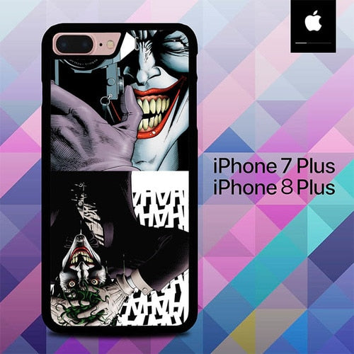 The Joker The Killing Joke Batman O3319 hoesjes iPhone 7 Plus , iPhone 8 Plus