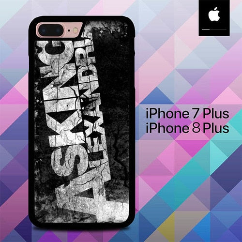 Asking Alexandria  O3375 hoesjes iPhone 7 Plus , iPhone 8 Plus