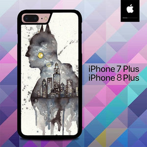 Batman Heroes O3399 hoesjes iPhone 7 Plus , iPhone 8 Plus