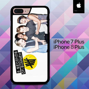 5 Second Of Summer 3 O3408 hoesjes iPhone 7 Plus , iPhone 8 Plus