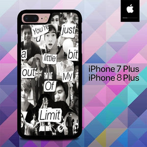 5 Second Of Summer Colleges O3418 hoesjes iPhone 7 Plus , iPhone 8 Plus