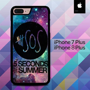 5 Seconds of Summer O3430 hoesjes iPhone 7 Plus , iPhone 8 Plus