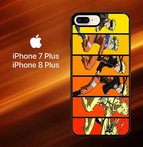 Naruto Life O3464 hoesjes iPhone 7 Plus , iPhone 8 Plus