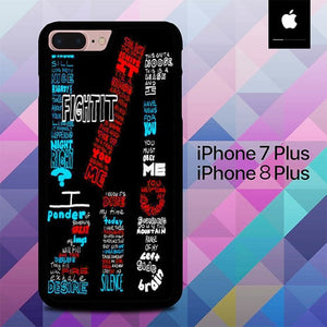 Twenty One Pilot O3501 hoesjes iPhone 7 Plus , iPhone 8 Plus