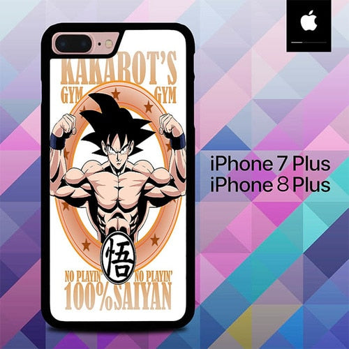 Kakarots Gym O3517 hoesjes iPhone 7 Plus , iPhone 8 Plus