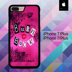 Burn Book Mean Girls O3521 hoesjes iPhone 7 Plus , iPhone 8 Plus