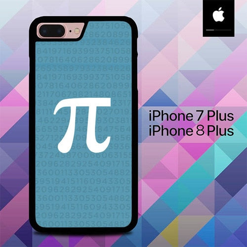 Simbolic Logo Pi Days O4005 hoesjes iPhone 7 Plus , iPhone 8 Plus
