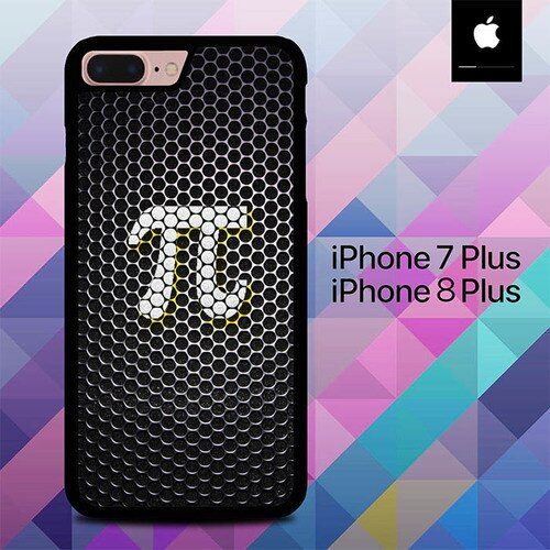Carbon Logo Pi Days O4011 hoesjes iPhone 7 Plus , iPhone 8 Plus
