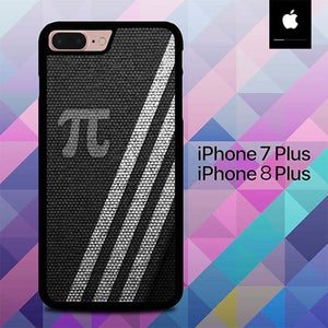 Pi Days Logo Texture O4016 hoesjes iPhone 7 Plus , iPhone 8 Plus