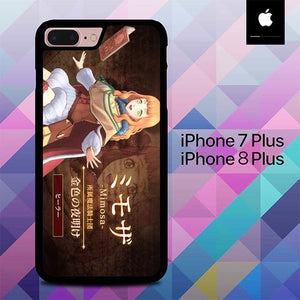 Mimosa Black Clover Anime O5024 hoesjes iPhone 7 Plus , iPhone 8 Plus