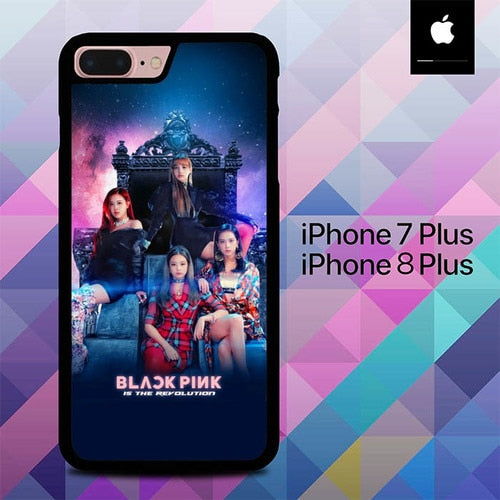 Blackpink Is The Revolution Cover O5058 hoesjes iPhone 7 Plus , iPhone 8 Plus